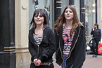Two EMO Girls, New Street, Birmingham 2006