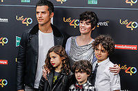 MADRID, SPAIN - NOVEMBER 10: Orson Salazar and Paz Vega with children at the 40 Principales Music Awards at the WiZink Center in Madrid, Spain November 10, 2017. Credit: Jimmy Olsen/Media Punch ***NO SPAIN***<br /> CAP/MPI/RJO<br /> &copy;RJO/MPI/Capital Pictures