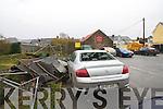 Cars damaged in Slatts car park, Tralee.