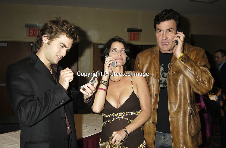Drew Tyler Bell, Leslie Kay and Daniel McVicar ..at the 11th Annual Daytime Television Salutes St. Jude Children's Research Hospital benefit hosted by Martha Byrne on October 14, 2005 at The New York Marriott Marquis Hotel. ..Photo by Robin Platzer, Twin Images