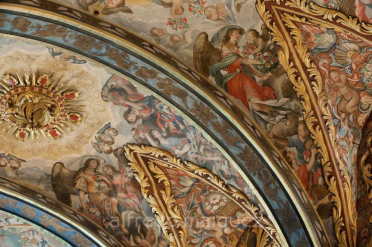 Dome of the church Santo Domingo, Orihuela. Alicante province, Comunidad Valenciana, Spain