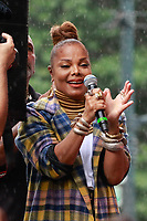 AUG 18 Janet Jackson and Daddy Yankee at 44th Annual Harlem Week