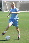23 August 2003: Beat forward Conny Pohlers of Germany. The Atlanta Beat practiced at Torero Stadium in San Diego, CA the day before playing the WUSA's Founders Cup III championship game.