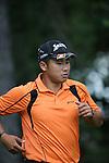 Hideki Matsuyama (JPN), JUNE 13, 2013 - Golf : 2013 U.S. Open golf championship first round 16th hole at the Merion Golf Club in Ardmore, Pennsylvania, United States. (Photo by Koji Aoki/AFLO SPORT)