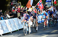 Picture by Simon Wilkinson/SWpix.com - 23/09/2017 - Cycling UCI 2017 Road World Championships Bergen Norway - Road Race <br /> MEN JUNIOR TOM PIDCOCK