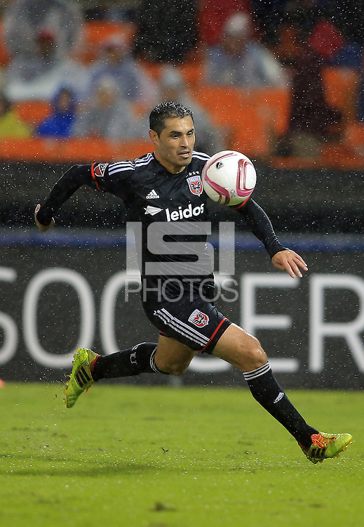 Washington, D.C. - Friday, October 2, 2015: D.C. United defeated New York City FC 2-1 in a MLS match at RFK Stadium.