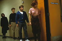 The Breakfast Club (1985) <br /> Molly Ringwald, Anthony Michael Hall, Ally Sheedy &amp; Emilio Estevez<br /> *Filmstill - Editorial Use Only*<br /> CAP/KFS<br /> Image supplied by Capital Pictures