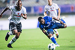 Besiktas Istambul Midfielder Ryan Babel (L) fights for the ball with FC Schalke Forward Bernard Tekpetey (R) during the Friendly Football Matches Summer 2017 between FC Schalke 04 Vs Besiktas Istanbul at Zhuhai Sport Center Stadium on July 19, 2017 in Zhuhai, China. Photo by Marcio Rodrigo Machado / Power Sport Images