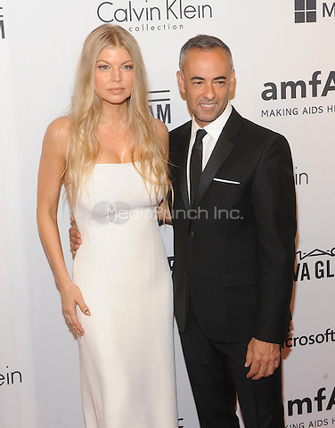 New York,NY- June 10:  Fergie Duhamel, Francisco Costa  attends the amfAR Inspiration Gala at The Plaza Hotel In New York City on June 10, 2014 . Credit: John Palmer/MediaPunch