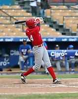 Jose Bonilla participates in the MLB International Showcase at Estadio Quisqeya on February 22-23, 2017 in Santo Domingo, Dominican Republic.