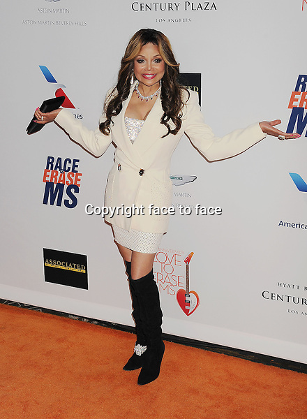CENTURY CITY, CA- MAY 03: TV personality Latoya Jackson arrives at the 20th Annual Race To Erase MS Gala 'Love To Erase MS' at the Hyatt Regency Century Plaza on May 3, 2013 in Century City, California...Credit: Mayer/face to face..- No Rights for USA, Canada and France -