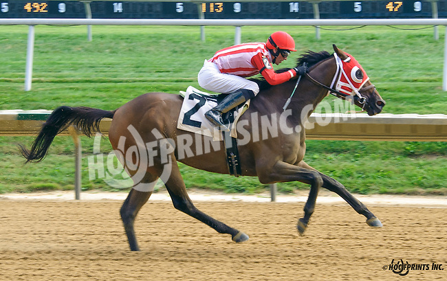 Pulling Away winning at Delaware Park on 9/3/16
