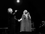 Rosyln Kind & Barbra Streisand  'Barbra Streisand Back To Brooklyn' - performance at the United Center in Chicago 10/26/2012