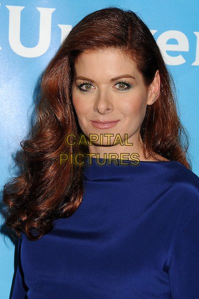 13 July 2014 - Beverly Hills, California - Debra Messing. NBC Universal Press Tour Summer 2014 held at the Beverly Hilton Hotel. <br /> CAP/ADM/BP<br /> &copy;Byron Purvis/AdMedia/Capital Pictures