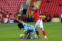 Ebou Adams of Forest Green Rovers and Jake Forster-Caskey of Charlton Athletic during Charlton Athletic vs Forest Green Rovers, Caraboa Cup Football at The Valley on 13th August 2019