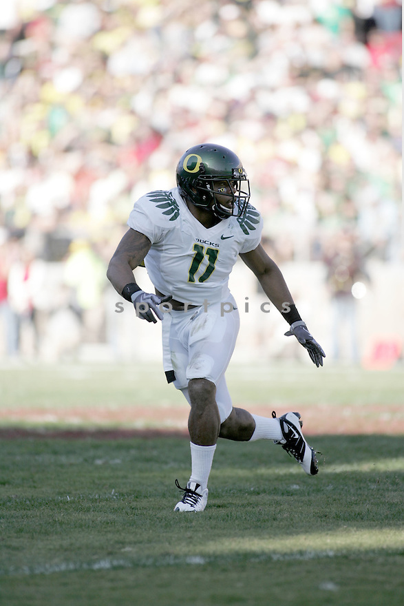 EDDIE PLEASANT, of the Oregon Ducks, in action during the Ducks game against the Stanford Cardinal on November 7, 2009 in Stanford, CA. Stanford won 51-42.