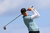 Robert Brazill (Naas) on the 10th tee during Round 4 of The East of Ireland Amateur Open Championship in Co. Louth Golf Club, Baltray on Monday 3rd June 2019.<br /> <br /> Picture:  Thos Caffrey / www.golffile.ie<br /> <br /> All photos usage must carry mandatory copyright credit (© Golffile | Thos Caffrey)