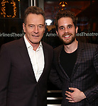 "Bryan Cranston and Ben Platt Attends the Broadway Opening Night of ""All My Sons"" at The American Airlines Theatre on April 22, 2019  in New York City."