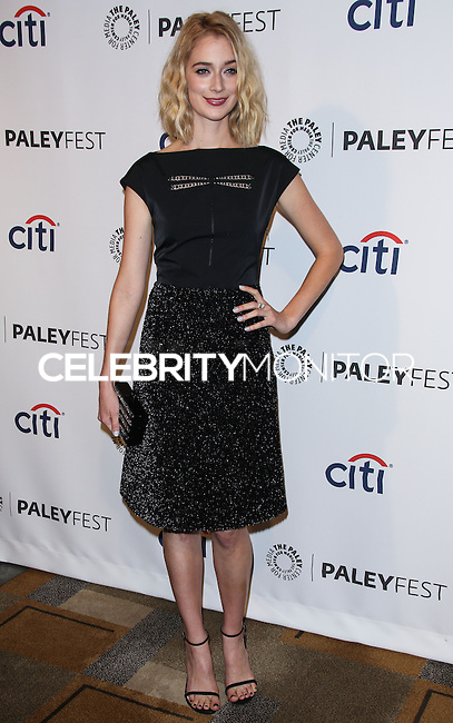 """HOLLYWOOD, LOS ANGELES, CA, USA - MARCH 24: Caitlin Fitzgerald at the 2014 PaleyFest - """"Masters of Sex"""" held at Dolby Theatre on March 24, 2014 in Hollywood, Los Angeles, California, United States. (Photo by Celebrity Monitor)"""