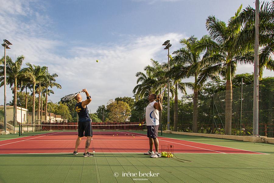 Transcorp Hilton Abuja, Tennis Court