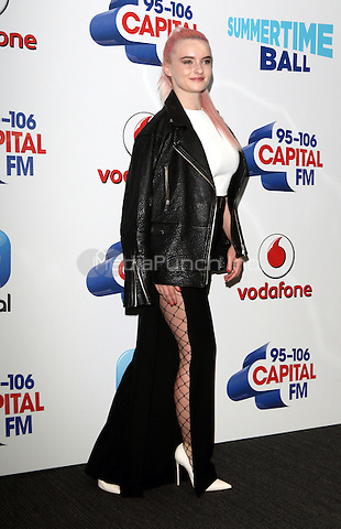 Grace Chatto of Clean Bandit  at Capital&Otilde;s Summertime Ball with Vodafone at Wembley Stadium, London on June 11th 2016<br /> CAP/ROS<br /> &copy;Steve Ross/Capital Pictures<br /> Grace Chatto of Clean Bandit  at Capital&rsquo;s Summertime Ball with Vodafone at Wembley Stadium, London on June 11th 2016<br /> CAP/ROS<br /> &copy;Steve Ross/Capital Pictures /MediaPunch ***NORTH AND SOUTH AMERIcAS ONLY***