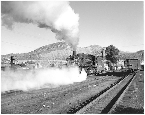 D&amp;RGW #484 switching in Durango yard.<br /> D&amp;RGW  Durango, CO