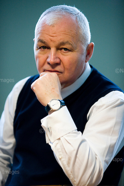 Warsaw 10 February 2014 Poland<br /> an Krzysztof Bielecki is a Polish liberal politician and economist. A leading figure of the Gdańsk-based Liberal Democratic Congress in the early 1990s, Bielecki served as Prime Minister of Poland for most of 1991. In his post-political career, Bielecki served as president of Bank Pekao between 2003 to 2010, and presently serves as the chairman of the Polish Institute of International Affairs. Since the early 2000s, Bielecki has been a member of the Civic Platform party. In 2010, the Warsaw Business Journal described Bielecki as one of the most respected economists in Poland.<br /> <br /> (Photo by Filip Cwik / Napo Images)<br /> <br /> Warszawa 10 luty 2014 Polska<br /> Jan Krzysztof Bielecki  &ndash; polski polityk, ekonomista, premier Polski w 1991, minister-czlonek Rady Ministrow ds. kontaktow z Europejska Wspolnota Gospodarcza w latach 1992&ndash;1993, posel na Sejm X i I kadencji, od 2003 do 2010 prezes zarzadu Banku Pekao. Kawaler Orderu Orla Bialego.<br /> <br /> (fot. Filip Cwik / Napo Images)