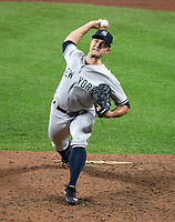 New York Yankees relief pitcher David Robertson (30) pitches in the eighth inning against the Baltimore Orioles at Oriole Park at Camden Yards in Baltimore, MD on Tuesday, July 10, 2018.  The Orioles won the game 6 - 5.<br /> Credit: Ron Sachs / CNP<br /> (RESTRICTION: NO New York or New Jersey Newspapers or newspapers within a 75 mile radius of New York City) Credit: Ron Sachs/MediaPunch