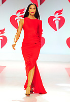 NEW YORK, NY - February 7 : Padma Lakshmi attends The American Heart Association's Go Red For Women Red Dress Collection 2019 Presented By Macy's at Hammerstein Ballroom on February 7, 2019 in New York City.<br /> CAP/MPI/JP<br /> &copy;JP/MPI/Capital Pictures