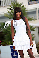 "Naomi Campbell attends the photocall for  "" The Face "" at Mipcom in Cannes - France"