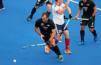 Nic Woods during the Pro League Hockey match between the Blacksticks men and Great Britain, National Hockey Arena, Auckland, New Zealand, Saturday 8 February 2020. Photo: Simon Watts/www.bwmedia.co.nz