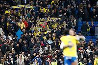 UD Las Palmas' supporters celebrate after La Liga match. March 1,2017. (ALTERPHOTOS/Acero) /NORTEPHOTOmex