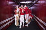 Wisconsin Badgers XXXX during an NCAA Big Ten Conference football game against the Maryland Terrapins Saturday, October 21, 2017, in Madison, Wis. The Badgers won 38-13. (Photo by David Stluka)