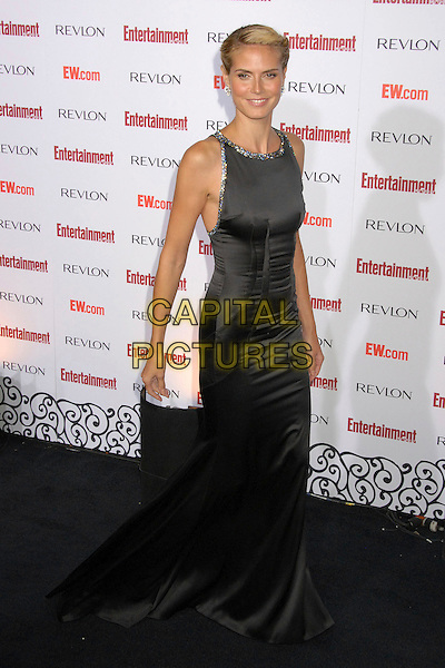 HEIDI KLUM.Entertainment Weekly's 5th Annual Emmys Celebration held at the Opera - Crimson, Hollywood, California, USA..September 15th, 2007.full length black dress.CAP/ADM/BP.©Byron Purvis/AdMedia/Capital Pictures.