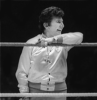 #Liberace at #Wrestlemania 1 in 1985<br /> Photo By Adam Scull/PHOTOlink.net