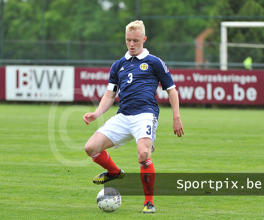 Scotland U19 - Georgia U19 : Jack Grimmer.foto DAVID CATRY / Nikonpro.be