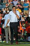 06 June 2015: Minnesota head coach Manny Lagos. The Carolina RailHawks hosted Minnesota United FC at WakeMed Stadium in Cary, North Carolina in a North American Soccer League 2015 Spring Season match. The game ended in a 1-1 tie.