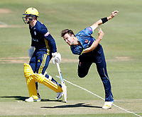Matt Henry bowls for Kent during the Royal London One Day Cup Final between Kent and Hampshire at Lords Cricket Ground, London, on June 30, 2018