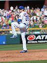 Chicago Cubs Kyle Hendricks (28) during a spring training game against the San Diego Padres on March 9, 2015 at Sloan Park in Mesa, AZ. The Padres beat the Cubs 6-3.