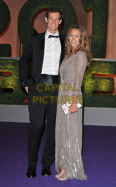 Andrew &quot;Andy&quot; Murray &amp; Kim Sears at the Wimbledon Champions Dinner, The Guildhall, Gresham Street, London, England, UK, on Sunday 10 July 2016.<br /> CAP/CAN<br /> &copy;CAN/Capital Pictures