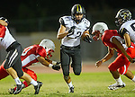 Lawndale, CA 09/26/14 - Rory Hubbard (Peninsula #22) in action during the Palos Verdes Peninsula vs Lawndale CIF Varsity football game at Lawndale High School.  Lawndale defeated Peninsula 42-21