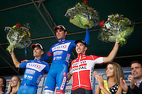 podium:<br /> 1/ Jérôme Baugnies (BEL/Wanty-Groupe Gobert)<br /> 2/ Marco Marcato (ITA/Wanty-Groupe Gobert)<br /> 3/ Sean De Bie (BEL/Lotto-Soudal)<br /> <br /> 55th Vlaamse Druivenkoers 2015