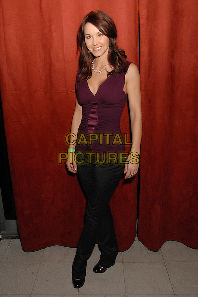 "AMIE BARSKY.""Knuckle Draggers"" Movie Wrap Party at Shag, Hollywood, California, USA, 14 December 2007..full length.CAP/ADM/BP.©Byron Purvis/AdMedia/Capital Pictures."