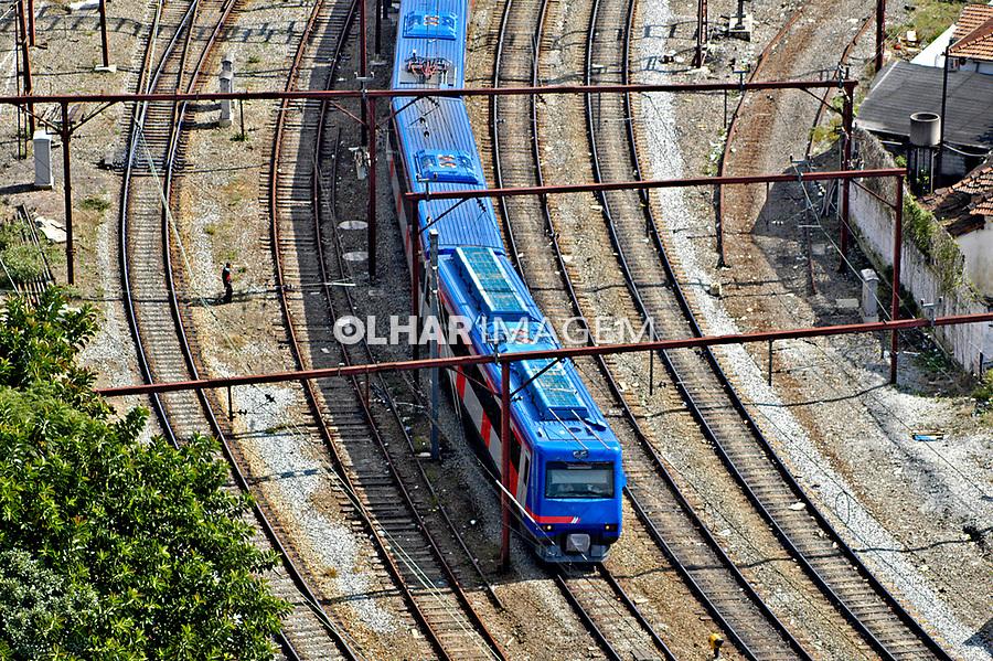 Transporte ferroviário urbano, Brás, São Paulo. 2004. Foto de Juca Martins.