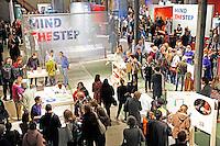 Nederland Eindhoven 2015. Dutch Design Week. 9 dagen lang presenteert DDW op 100 locaties processen, experimenten en ideeën, antwoorden en oplossingen van 2400 designers. Expositie in het Klokgebouw