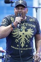 Aaron Neville performs at the 44th Festival d'ete de Quebec on the Plains of Abraham in Quebec city Saturday July 9, 2011. The Festival d'ete de Quebec is Canada's largest music festival with more than 1000 artists and close to 400 shows over 11 days.