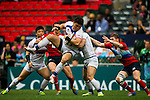 Russia vs South Korea during their HSBC Sevens Wold Series Qualifier match as part of the Cathay Pacific / HSBC Hong Kong Sevens at the Hong Kong Stadium on 27 March 2015 in Hong Kong, China. Photo by Aitor Alcalde / Power Sport Images