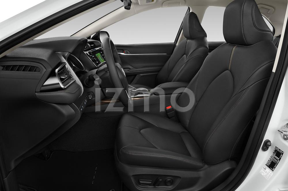 Front seat view of 2019 Toyota Camry Premium 4 Door Sedan Front Seat  car photos