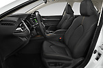 Front seat view of 2019 Toyota Camry Premium 4 Door Sedan Front Seat  car photos