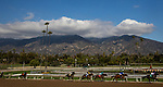 DEC 28: The field for the first race on Opening Day races infant of the San Gabriel Mountains at Santa Anita Park in Arcadia, California on December 28, 2019. Evers/Eclipse Sportswire/CSM